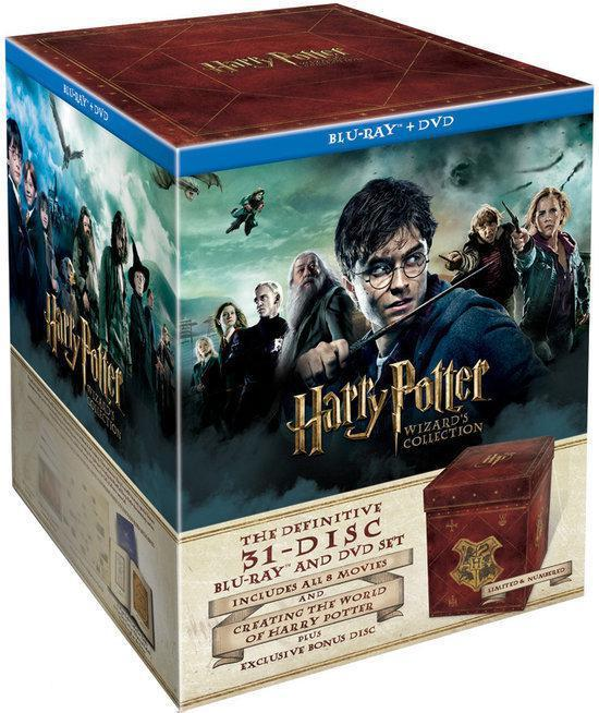 DVD cover van Harry Potter 1 t/m 7 (Wizards Collection) (Limited Edition)
