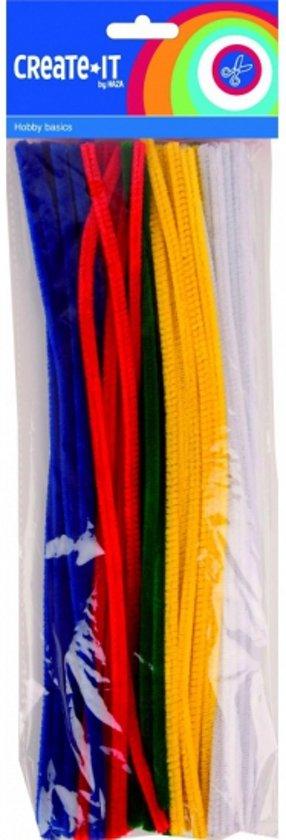 Chenilledraad/ pijpenragers in meerdere kleuren 50 st