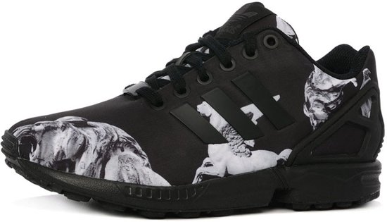 adidas zx flux zwart zool