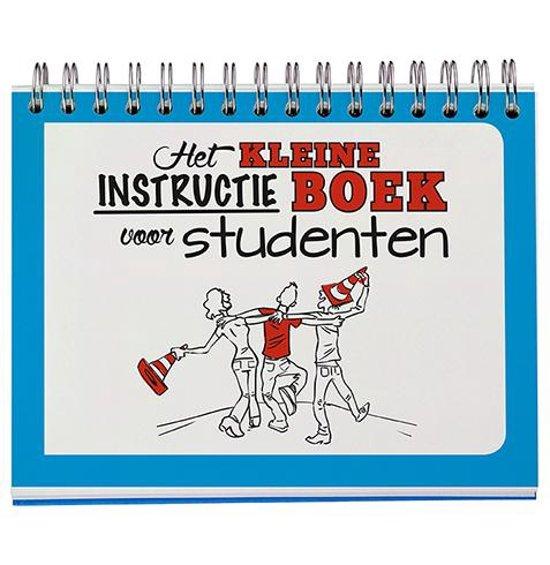 Boek cover Het kleine instructie boek voor studenten van nvt (Onbekend)