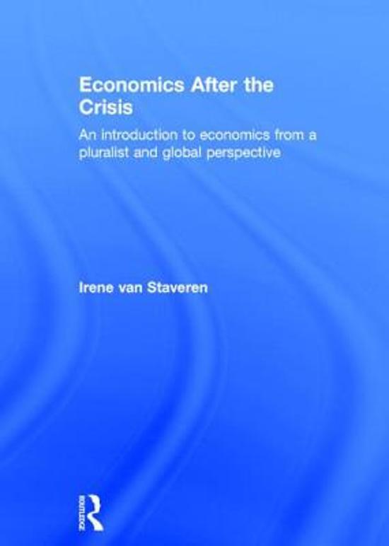 Economics After the Crisis