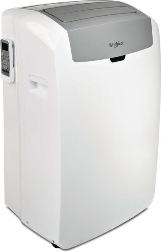 Whirlpool PACW12HP - Mobiele airco - Grijs/wit