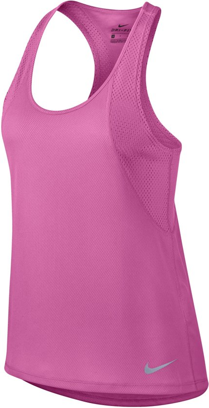 Nike Running Tanktop W  Sporttop - Maat M  - Vrouwen - roze