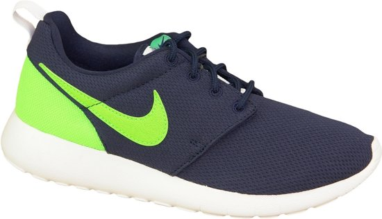 Nike Roshe Un (gs) Sneakers Junior - Taille 36,5 - Unisexe - Noir