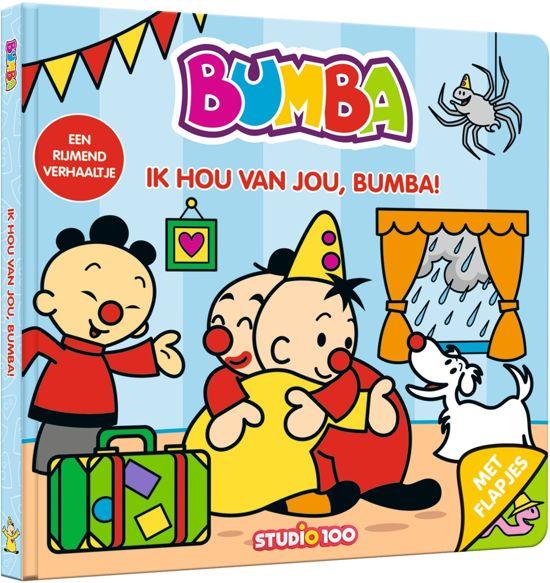 Boek cover Bumba - Ik hou van jou, Bumba! kartonboek met flapjes van Gert Verhulst (Onbekend)