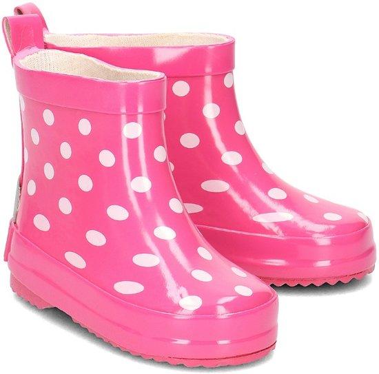 Playshoes Regenlaarzen Kinderen Stippen - Roze - maat 25