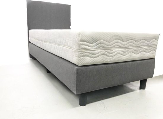 Bol boxspring persoons grijs