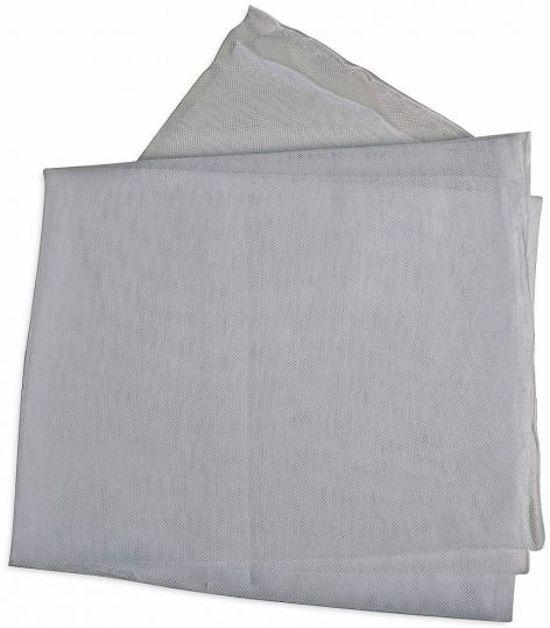 Muggennet stof 145cm x 100cm As-grijs