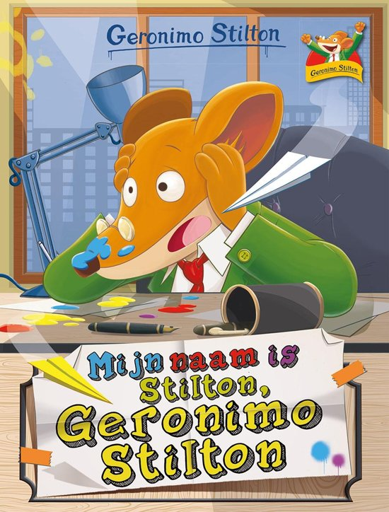 Geronimo Stilton 1 - Mijn naam is Stilton, Geronimo Stilton
