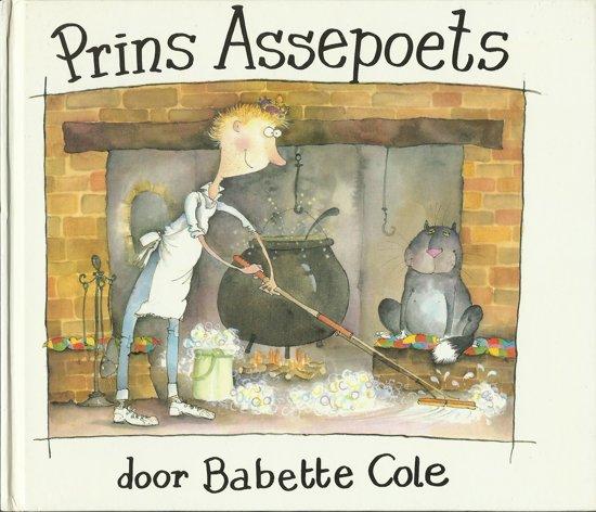 Boek cover Prins assepoets van Babette Cole