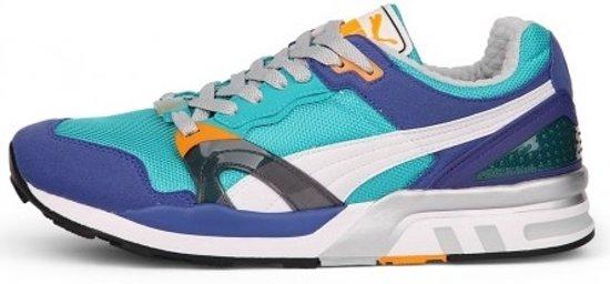 Baskets Puma Trinomic Xt 1 Taille Homme Bleu / Blanc / Rouge 41 2l5ckM