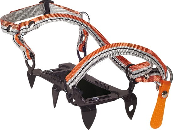 Climbing Technology Mini Crampon 6pt. stijgijzers oranje/zwart