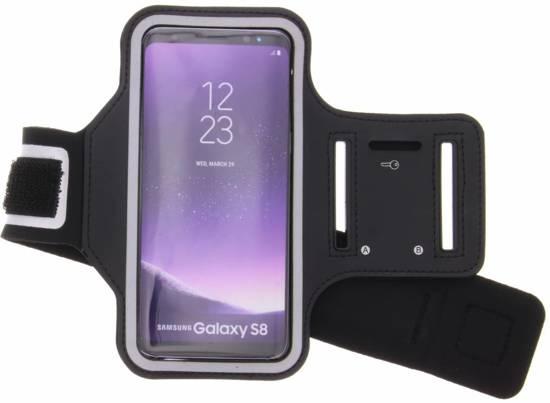 Zwarte sportarmband voor de Samsung Galaxy S8