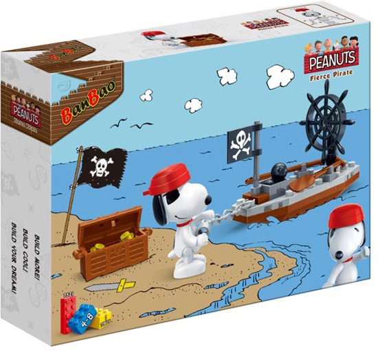 BanBao Snoopy Piratenbootje-7521