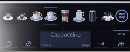 Siemens TE655203RW EQ.6 Plus series 500 Volautomatische Espressomachine