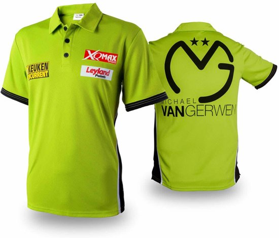 Match Shirt Rep Mvg Size Xxl - Xq Max Darts