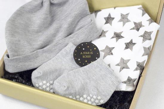 Babyshower cadeau - Kraamcadeau - Baby cadeauset - Baby cadeaupakket - Baby kraamcadeau - Geboorte cadeau - Kraamcadeau unisex - Baby geschenkset