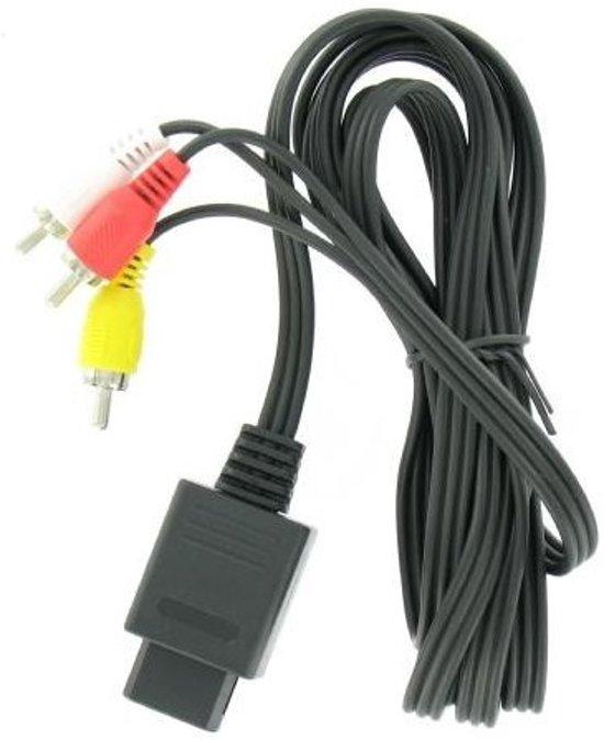 Afbeelding van OTB Composiet AV kabel voor Nintendo 64, SNES en GameCube - 1,5 meter