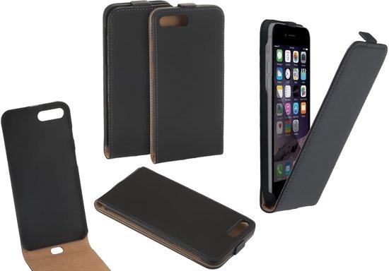 apple iphone 7 plus smartphone hoesje leder flip. Black Bedroom Furniture Sets. Home Design Ideas