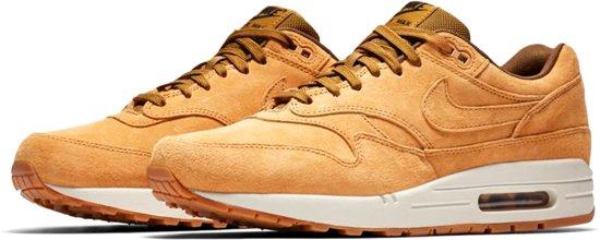Nike Air Max 1 Premium Sneakers Maat 42 Mannen oranjebruin