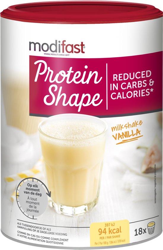 Modifast Protein Shape Milkshake Vanille - 540 gram
