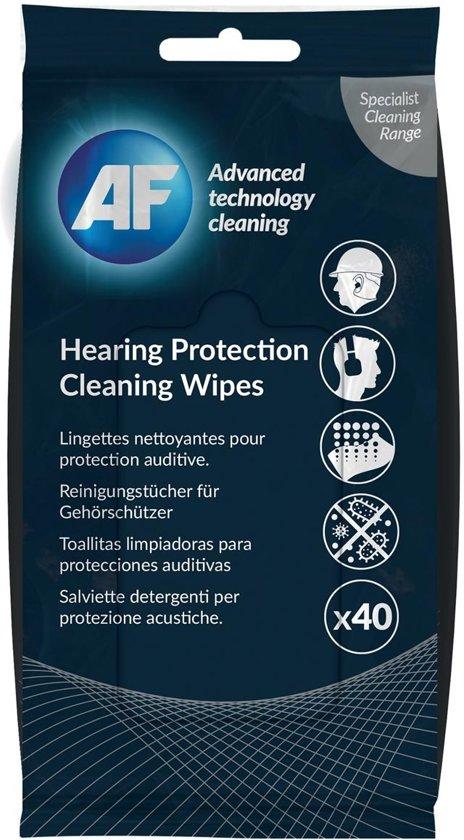 Gehoorbescherming reinigingsdoekjes - Pak van 40 doekjes