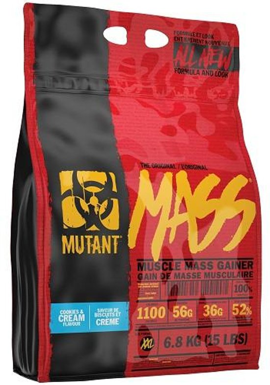 Mutant Mass - Weight gainer - 6800 gram - Cookies & Cream