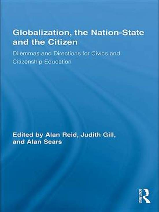 globalization and nation state In this essay, the purpose is to explain the relationship between the globalization and nation-state firstly, it will explain the academic definition of globalization.