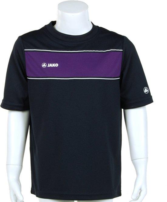 JAKO Player Junior - Voetbalshirt - Kinderen - Maat 140 - Donkerblauw/Paars