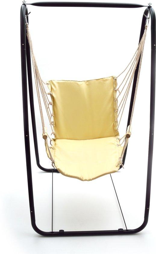 Hangstoel Voor In De Tuin.Bol Com Hangstoel Met Standaard Hangmat Hangende Tuin Stoel Met
