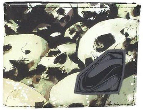 Superman - Man of Steel Skulls Bifold Portemonnee