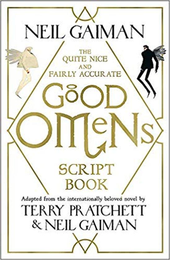 Boek cover The Quite Nice and Fairly Accurate Good Omens Script Book van Neil Gaiman (Paperback)