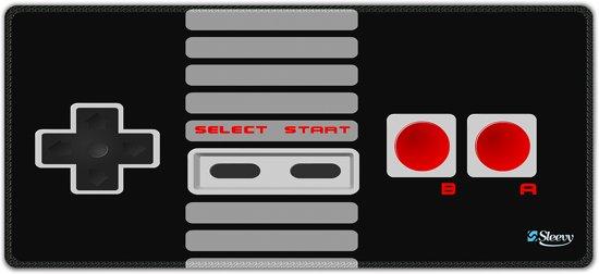 Muismat gaming zwarte joystick 90 x 40 cm - Sleevy