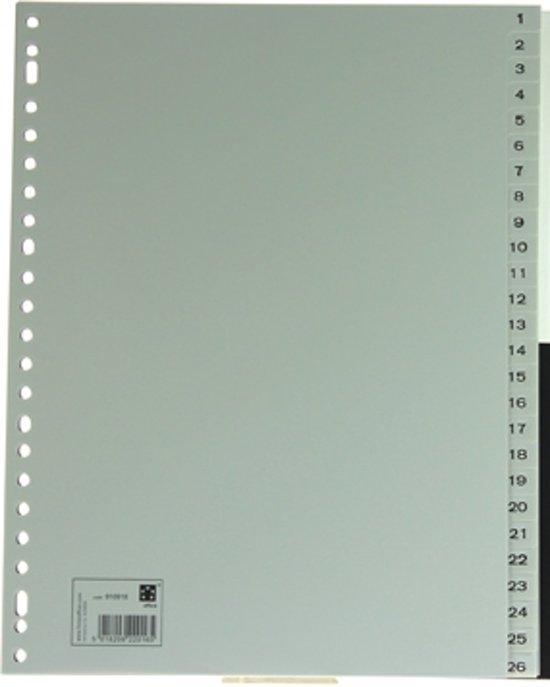 5 Star tabbladen set 1-52 formaat A4