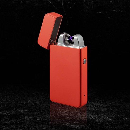 Novi elektrische oplaadbare Plasma Aansteker – Matte Red | USB
