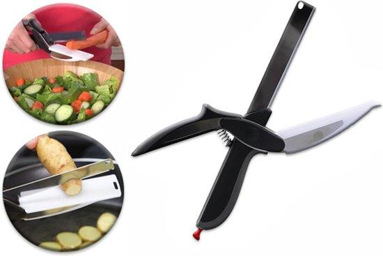 2-1 Mes Bekend van TV - RVS   Express Cutter Snijschaar   Messen   Keuken