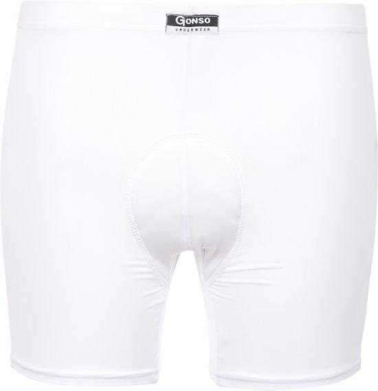 Gonso Kaduna Rad-U-Pants dames fietsondergoed wit - Maat 44