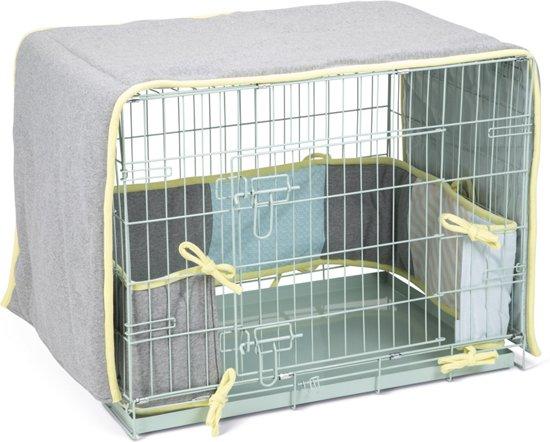 Beeztees Puppy Slaapset - Hondenbench - 78x55x61 cm