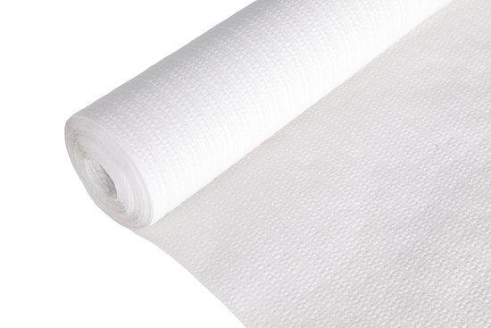 Cosy&Trendy Tafelkleed op Rol - Papier - Wit - 1.18 x 20 m