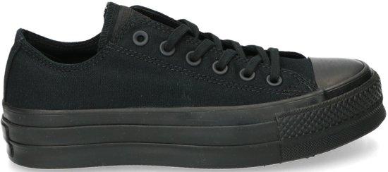 28c0162ce0b Converse Dames Sneakers Chuck Taylor Allstar Clean Lif - Zwart - Maat 37