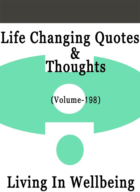 Bolcom Life Changing Quotes Thoughts Volume 198 Ebook Dr