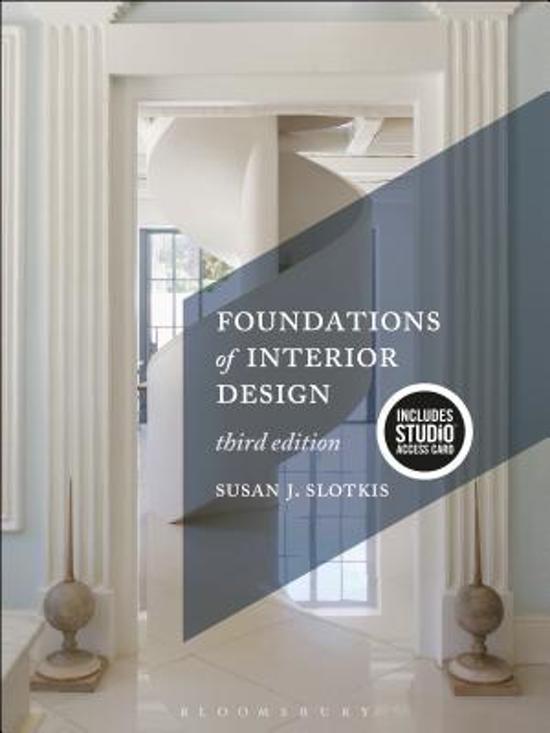 Bolcom Foundations Of Interior Design Bundle Book Studio