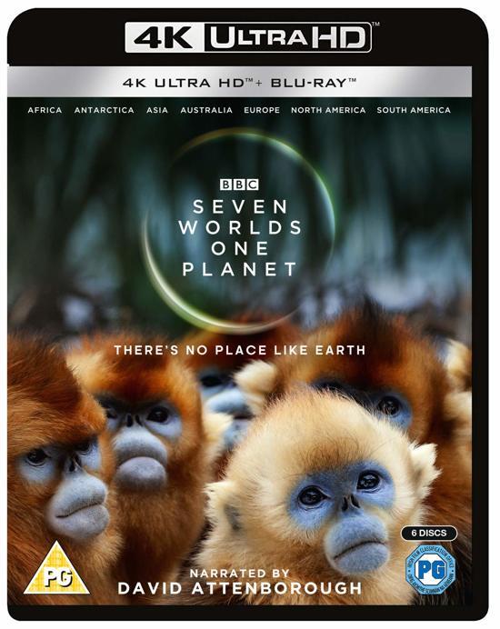 DVD cover van Seven Worlds, One Planet (4K Ultra HD Blu-ray)