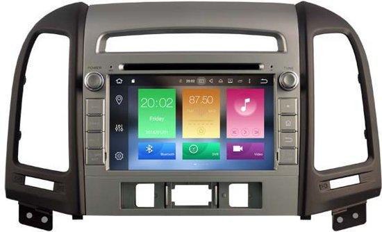 Hyundai Android 8.0 Navigatie voor Hyundai new Santa Fe vanaf 2012