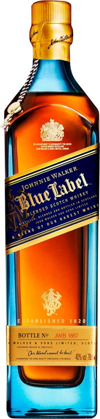 Johnnie Walker Blue Label Whisky - 70 cl