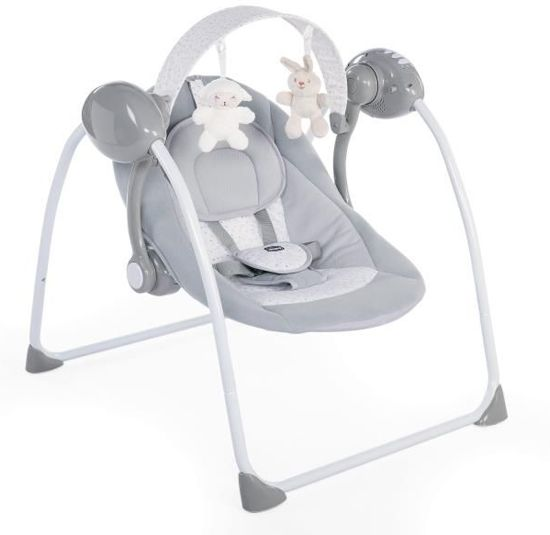 Chicco schommelstoel relax & play cool grey