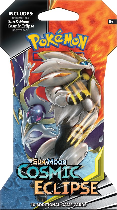 Afbeelding van Pokémon Sun & Moon Cosmic Eclipse Sleeved Booster - Pokémon Kaarten