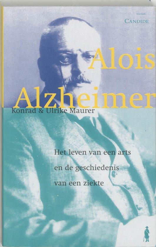 Boek cover Alois Alzheimer van Konrad Maurer (Onbekend)