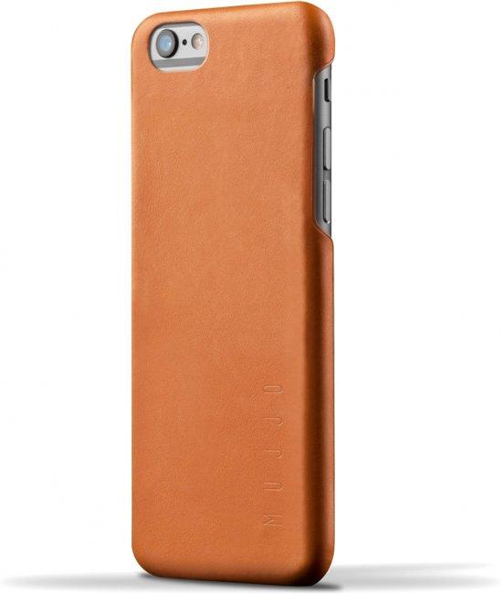 promo code a8e7e d9252 Mujjo Leather Case iPhone 6 / 6s - Tan