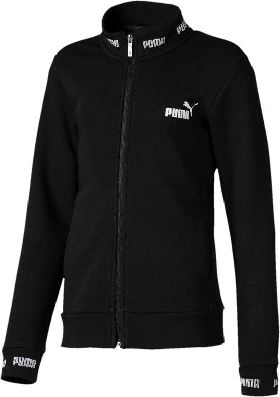 729a333efd6 bol.com | PUMA Amplified Joggingsvest Meisjes - Cotton Black